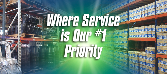 Service is Our Number 1 Priority